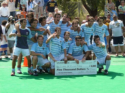 Ciudad A campeón de la edición 2009 (Foto: Cal Cup)